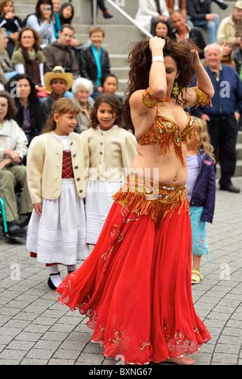 The 2nd festival of cultures, Gasometer Triesen, Liechtenstein FL - Stock-Bilder
