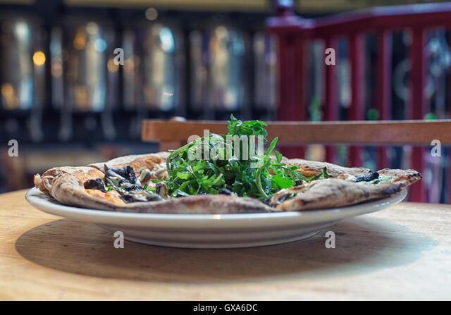 Vegan Pizza - Stock Image