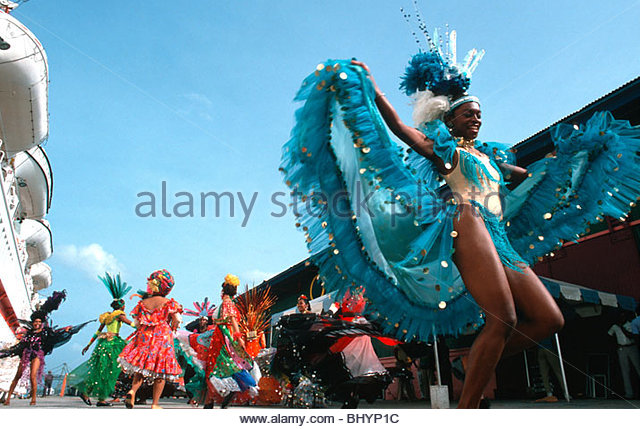 Trinidad Carnival Banners Polishing Banners