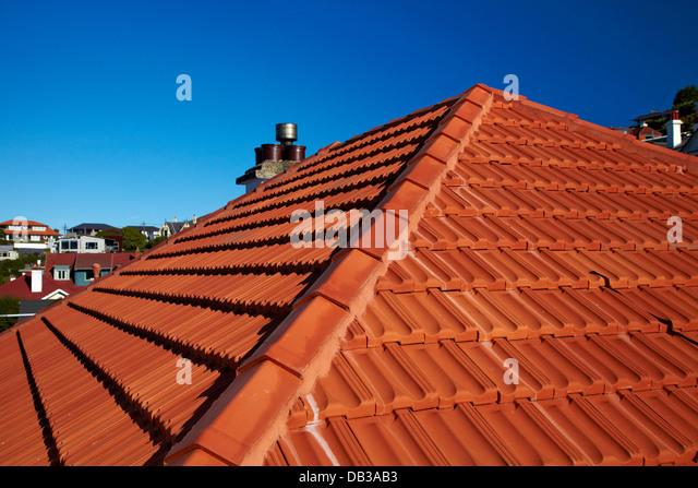 Orange Roof Tiles Stock Photos Orange Roof Tiles Stock