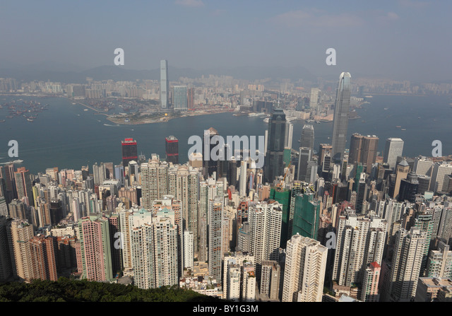 how to go to victoria peak hong kong from kowloon