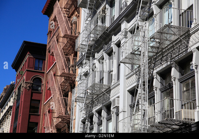 Soho, Manhattan, New York City, United States of America, North America - Stock Image
