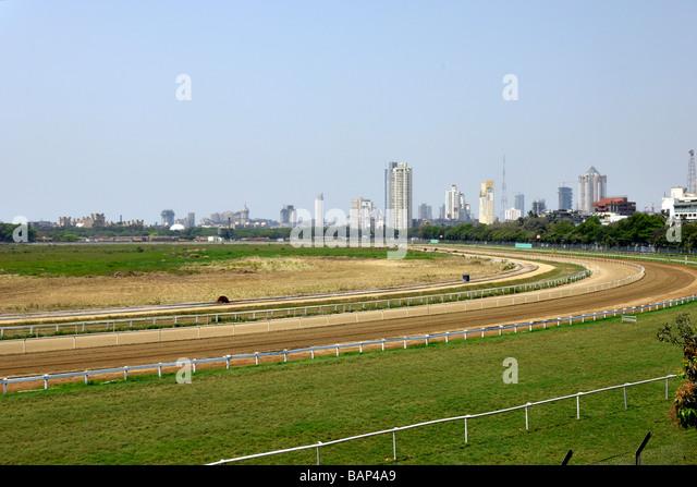 Mahalakshmi Race course Mumbai - Stock Image