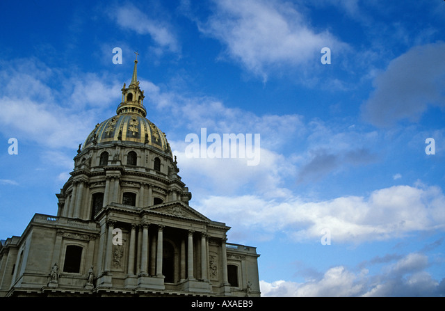 France Paris Les Invalides - Stock Image