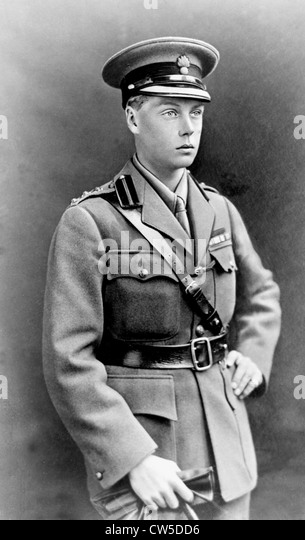 Portrait of Edward, Prince of Wales. (who was to become Edward VIII) - Stock Image