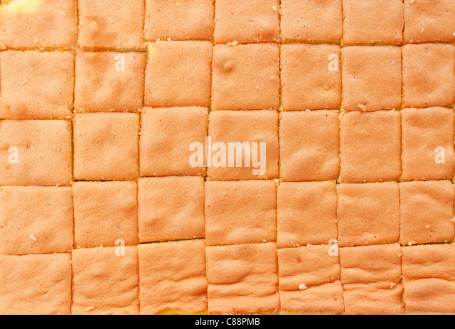 Group of square cakes background - Stock-Bilder