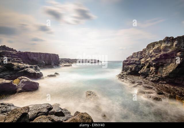 Hachijojima, Japan coast. - Stock-Bilder