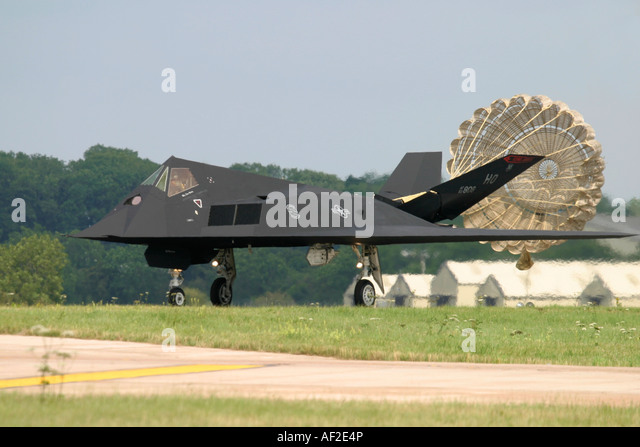 USA Air Force Lockheed F-117A Nighthawk - Stock Image