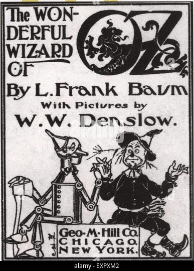 Black N White Book Cover ~ Wonderful wizard of oz stock photos