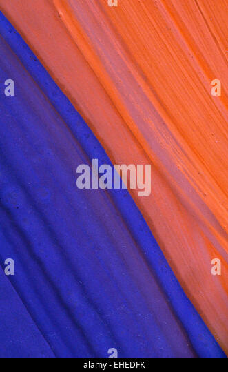 Abstract  painting swatch - Stock Image