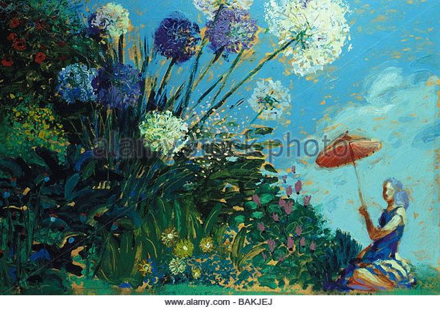 Flower Garden - Stock-Bilder