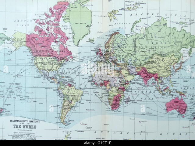 Illustration from Harmsworth History of the World: - Stock Image