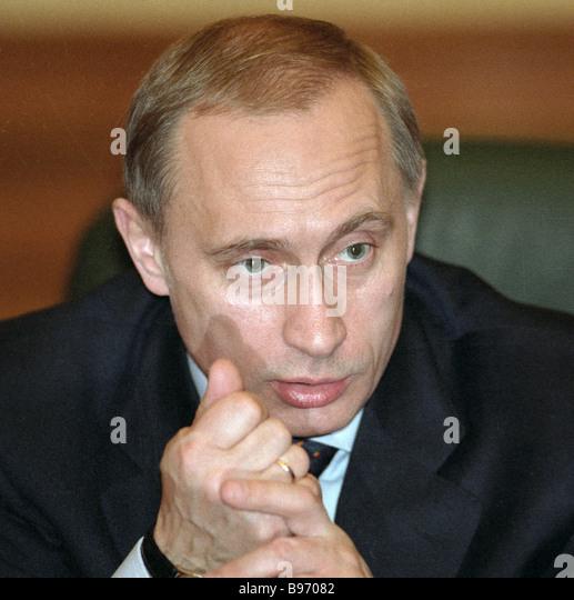 Prime Minister Vladimir Putin - Stock Image