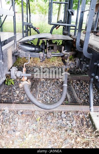 historic steam train - 4th of June 2017 - Schierwaldenrath, Gangelt, Selfkant, North Rhine Westphalia, NRW, Germany, - Stock Image