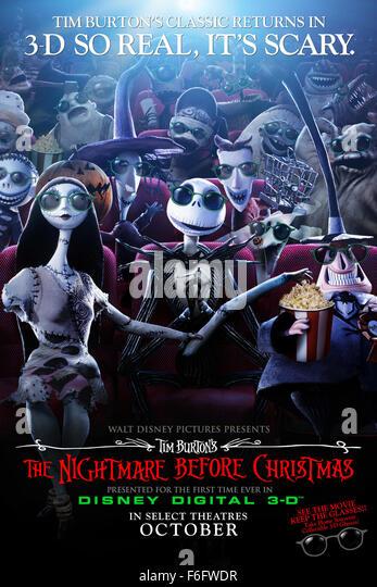 Nightmare before christmas release date in Brisbane