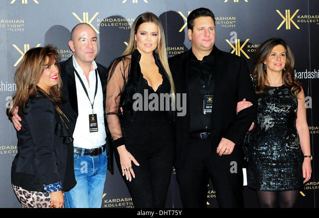 London UK 14th Nov 2013 : Khloe Kardashian attends the launch party for the Kardashian Kollection for Lipsy at Natural - Stock Image