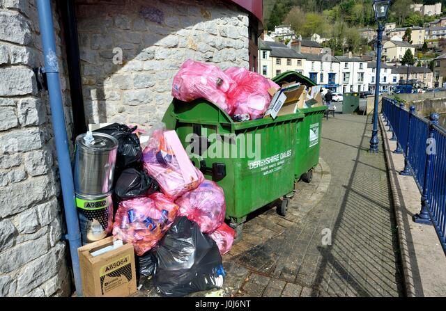Waste management - Stock Image