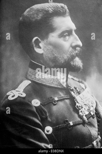 King Ferdinand of Romania - Stock Image