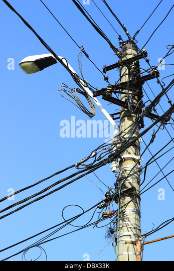 tangled electrical wires stock photos  u0026 tangled electrical