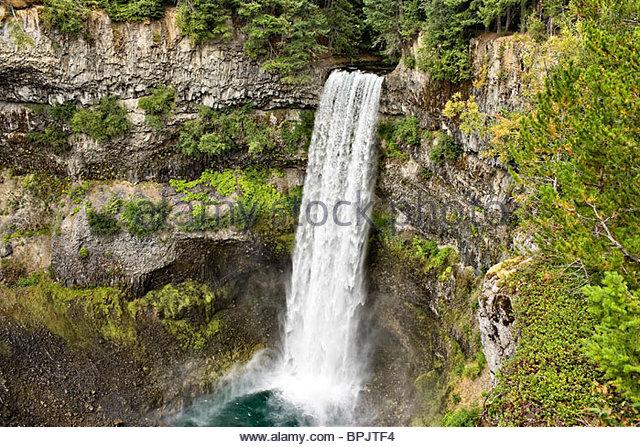 Brandywine Falls, Brandywine Falls Provincial Park, British Columbia, Canada - Stock Image