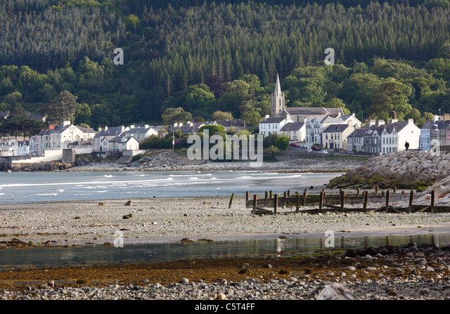 Great Britain, Northern Ireland, County Down, Newcastle - Stock-Bilder