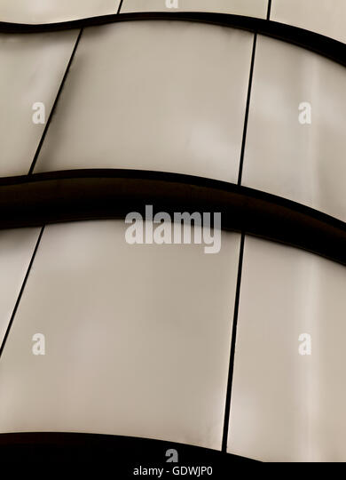Glass, Abstract roof in New York City, USA - Stock Image