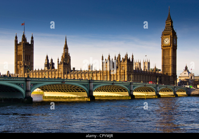 Houses of Parliament, London - Stock Image