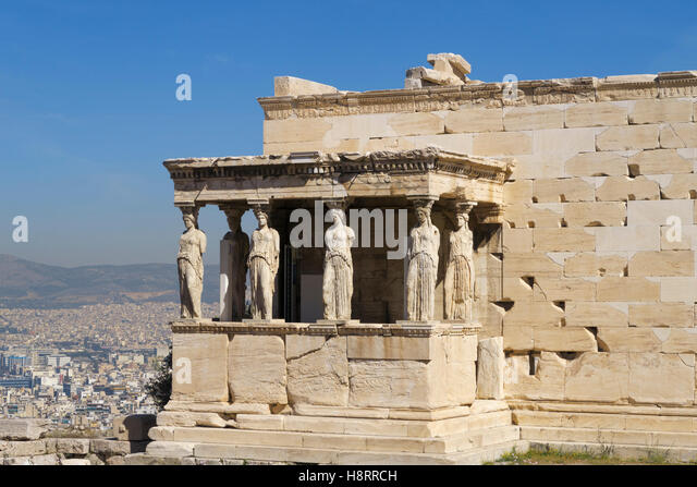 Caryatid Acropolis Stock Photos & Caryatid Acropolis Stock ...