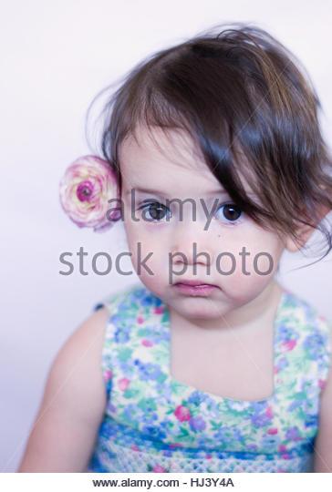 Flower girl - Stock-Bilder