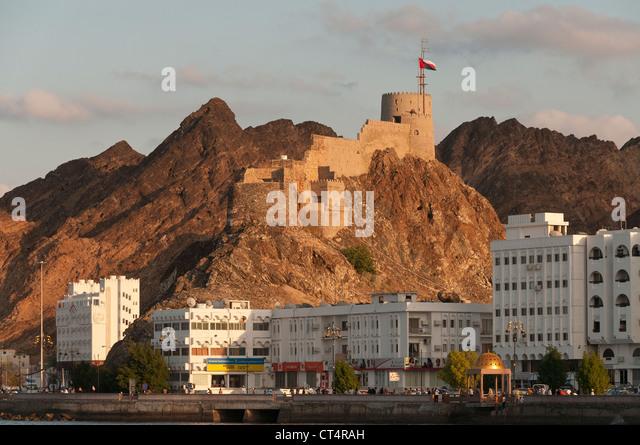 Elk207-1117 Oman, Muscat, Muttrah, Corniche - Stock Image