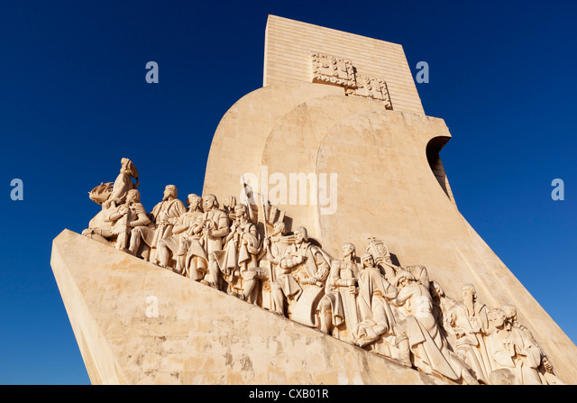 Monument to the Discoveries, Belem, Lisbon, Portugal, Europe - Stock-Bilder