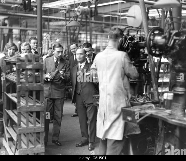 Tricker S Shoe Factory In Northampton
