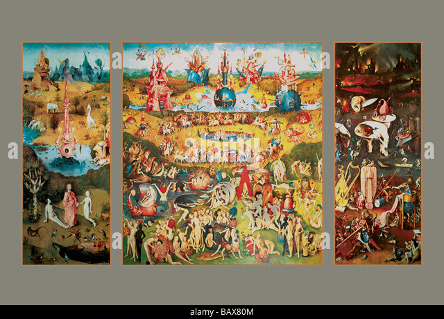 Garden of Earthly Delights - Stock Image