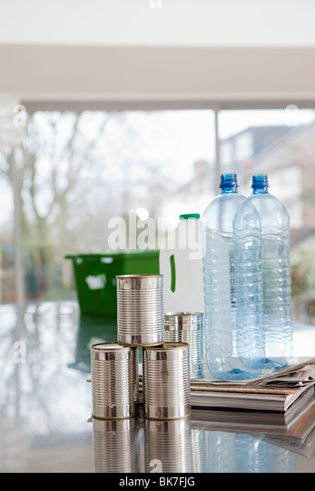 Objects for recycling - Stock Image
