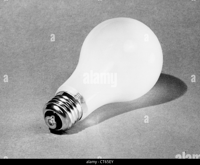 Vintage lightbulb - Stock Image