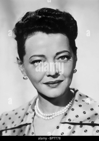 SYLVIA SIDNEY ACTRESS (1956) - Stock Image