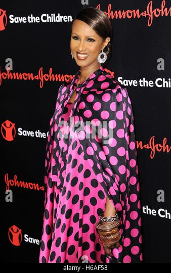 New York, NY, USA. 25th Oct, 2016. Iman at arrivals for 4th Annual Save the Children Illumination Gala, The Plaza - Stock-Bilder