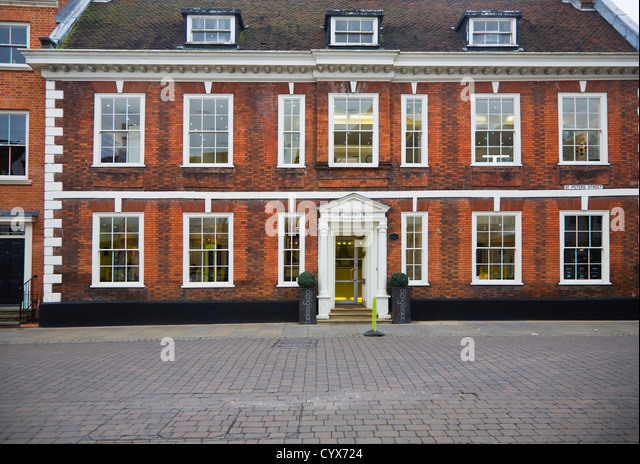 The Sailor's Home building Ipswich, Suffolk, England - Stock Image