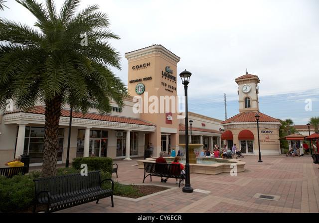 orlando premium outlets international drive florida usa - Stock Image