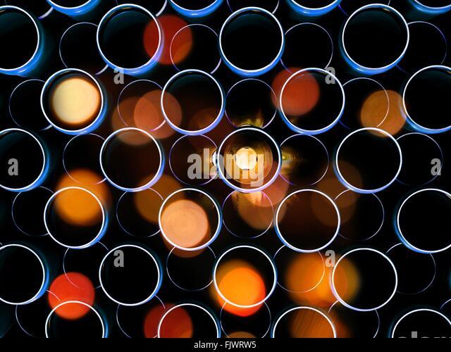 Full Frame Shot Of Defocused Lights - Stock-Bilder