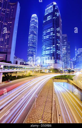 International Financial Center of Hong Kong - Stock-Bilder