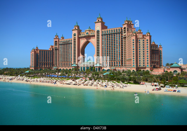 Atlantis hotel Dubai, United Arab Emirates - Stock Image