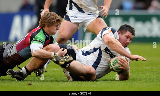 Rugby Union - Heineken Cup - Pool Five - London Harlequins v Sale Sharks - Twickenham Stoop - Stock Image