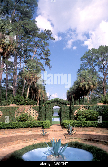 Alfred B Maclay gardens state park - Stock Image