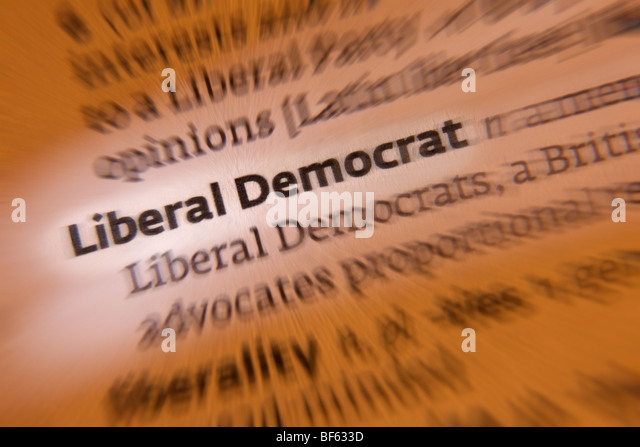 British Politics - Liberal Democrat Party - Stock Image