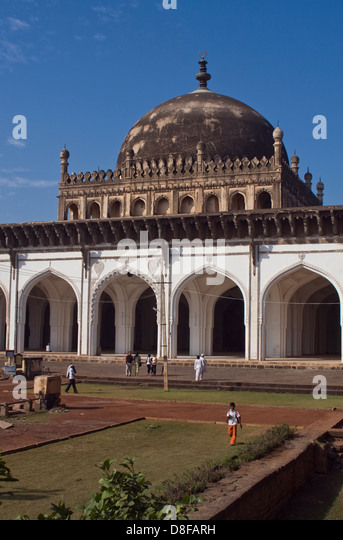 Asien, Indien, Karnataka, Bijapur,Jami Masjid - Stock-Bilder