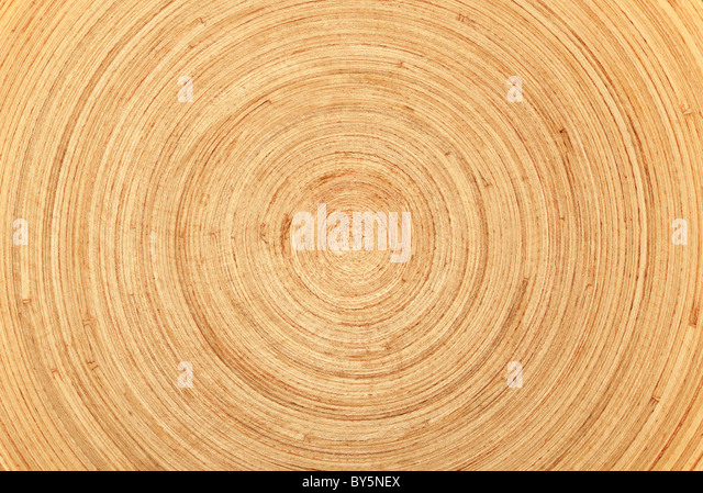 Circular wood texture or background. - Stock Image