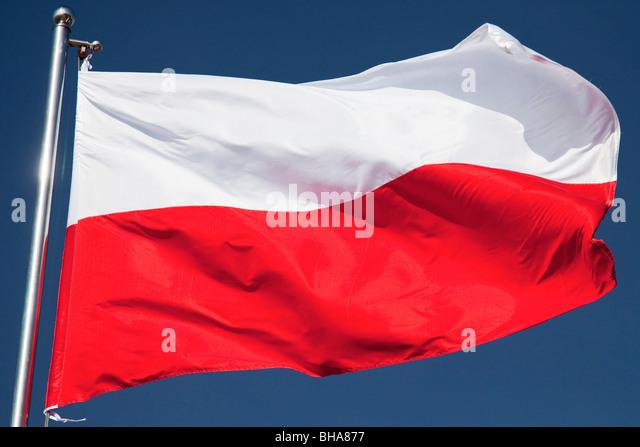 Flag of Poland - Stock-Bilder