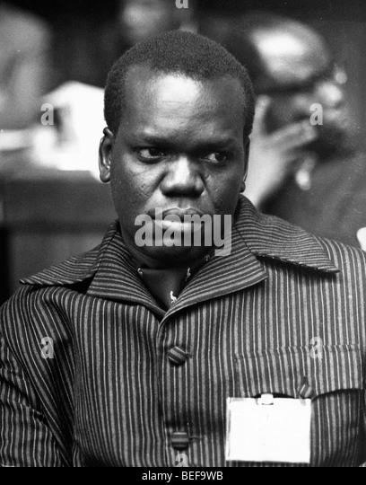 Lt. Col. JUMA ORIS ABDALLA, Minister for Foreign Affairs - Stock Image