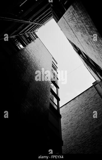 Apartment buildings. - Stock-Bilder